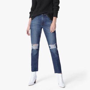 NWT Joe's Jeans Debbie High Rise Straight Ankle